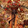 淡水坪頂集應廟鎮殿保儀尊王聖像