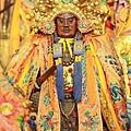 木柵集應廟保儀尊王老祖聖像。今年適逢張尪公老祖駐駕坪頂集應廟。