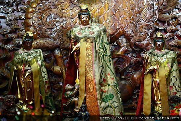 南方澳南天宮觀音佛祖聖像