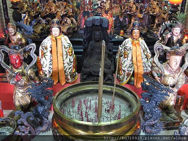 淡水魁星宮觀音佛祖聖像