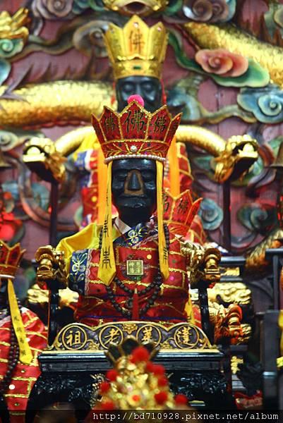 淡水清水巖蓬萊老祖聖像
