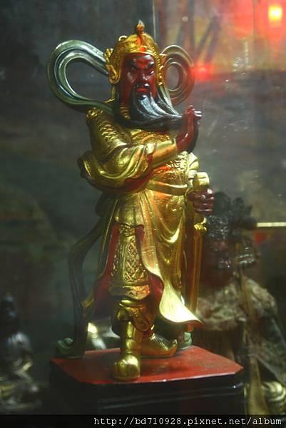 南投慈雲寺伽藍護法聖像