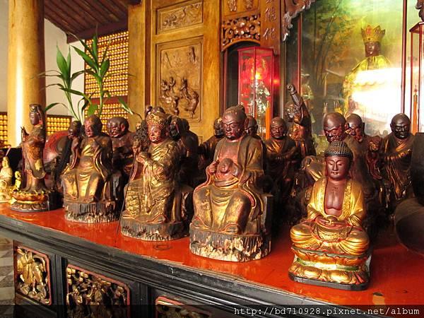 南投慈雲寺列位菩薩聖像