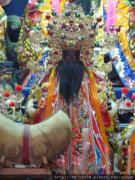 南投指南宮城隍尊神聖像