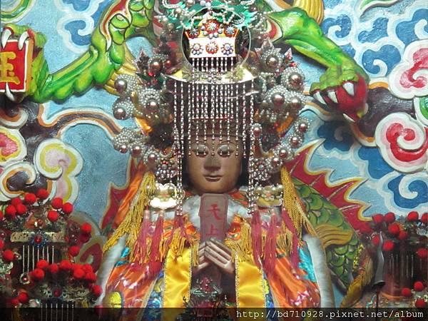 台北林口永興宮鎮殿天上聖母聖像