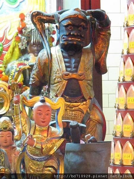 台北林口永興宮千里眼將軍聖像
