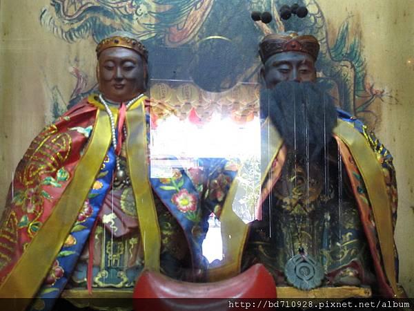 艋舺晉德宮福德正神、土地婆聖像