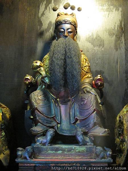 艋舺晉德宮文昌帝君聖像