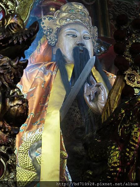 艋舺真武殿鎮殿玄天上帝聖像