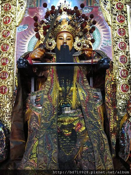 艋舺真武殿軟身玄天上帝聖像