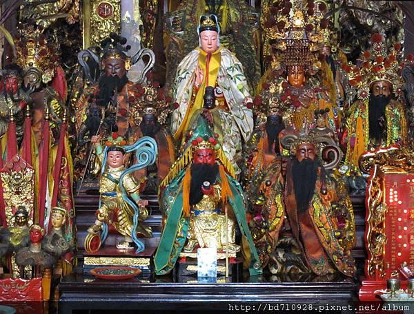 艋舺真武殿列位神佛聖像