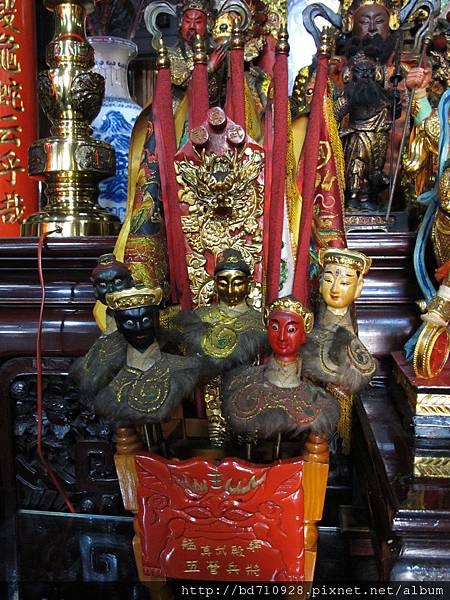 艋舺真武殿五營將軍聖像