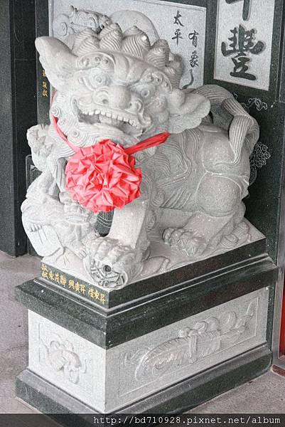 二樓海神廟廟前石獅
