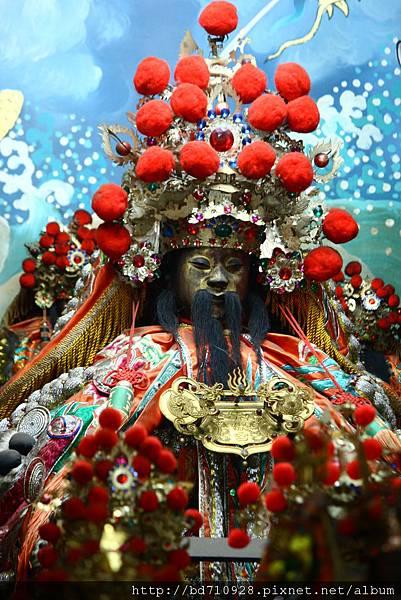 台中元保宮鎮殿保生大帝聖像