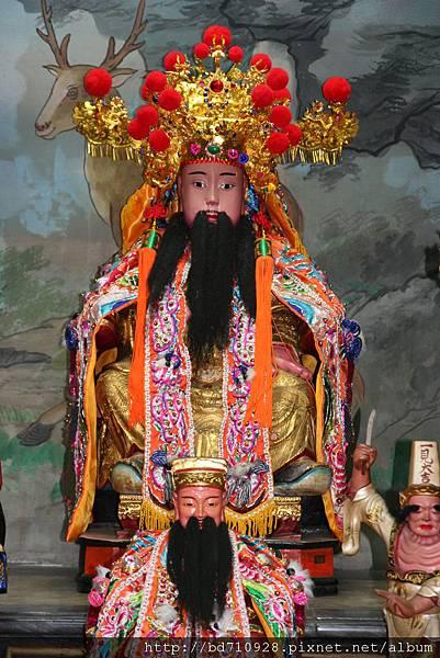 台中元保宮城隍尊神聖像