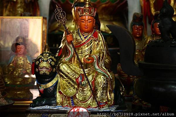 台中元保宮地藏王菩薩聖像