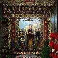 中殿二樓龍側,奉祀:至聖先師、文昌帝君、魁斗星君