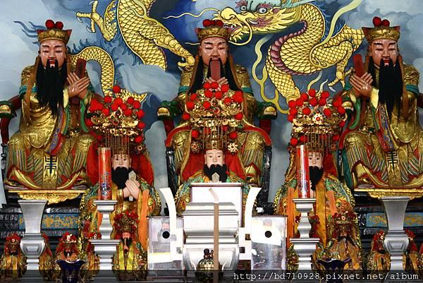 台中元保宮三官大帝聖像