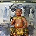 凌霄寶殿三樓龍側,奉祀:神農大帝