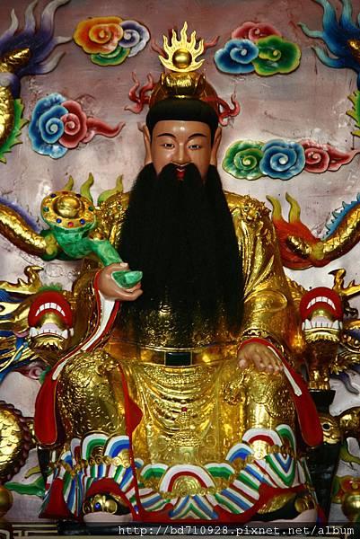 台中元保宮東華帝君聖像