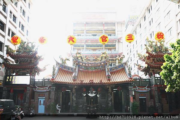 台中元保宮廟貌