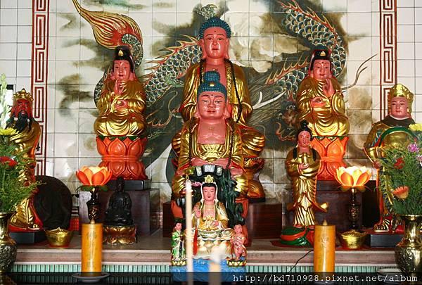 蘇澳寶山寺釋迦牟尼佛、觀世音菩薩聖像