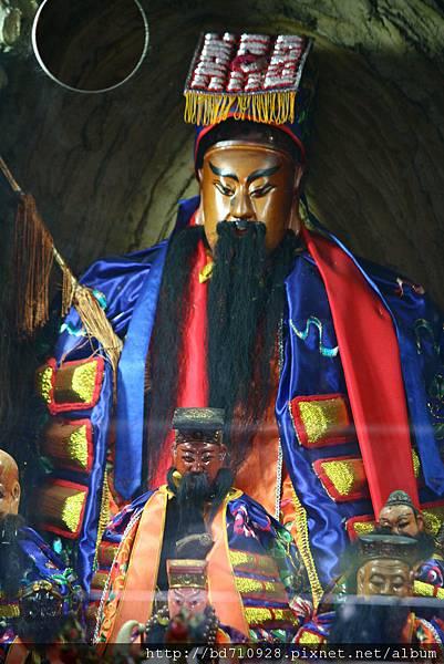 蘇澳南山宮鎮殿孚佑帝君呂仙祖聖像