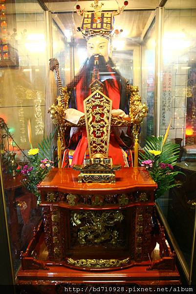 正殿虎側山西太原孚佑帝君聖像