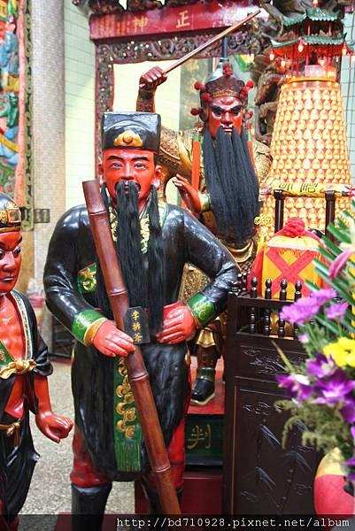 台中都城隍廟武判官、李排爺聖像