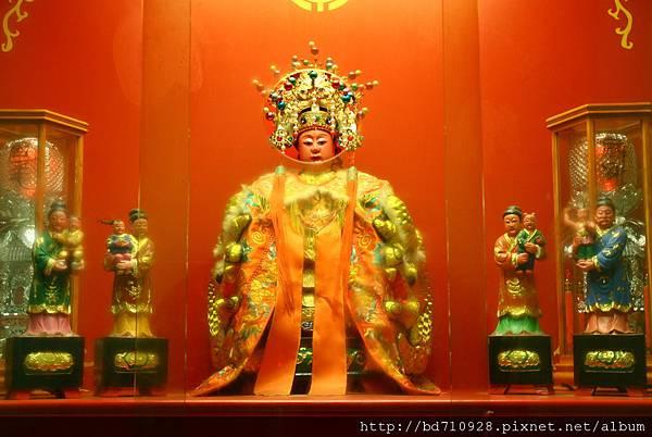 台中都城隍廟註生娘娘聖像