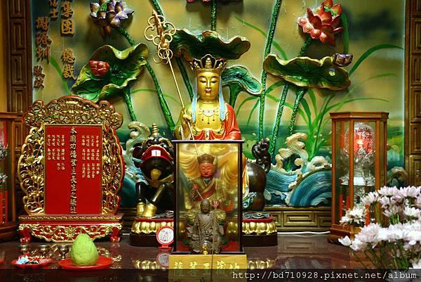 台中都城隍廟地藏王菩薩聖像
