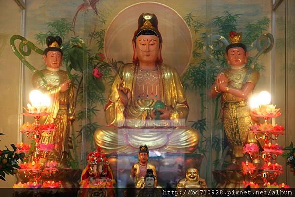 台中法蓮寺觀音佛祖聖像