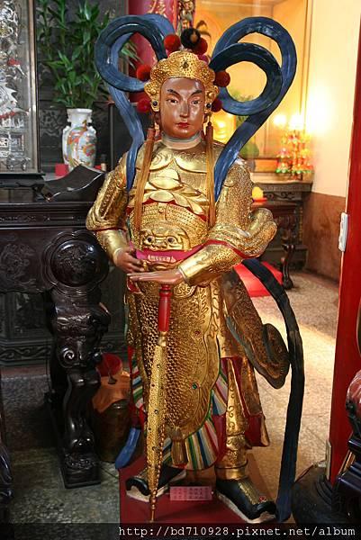 台中法蓮寺韋馱護法聖像