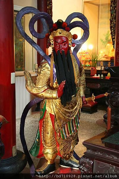 台中法蓮寺伽藍護法聖像