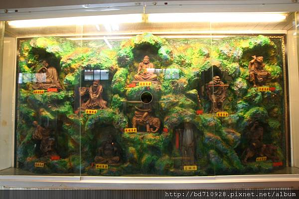 法蓮寺虎側十八羅漢聖像