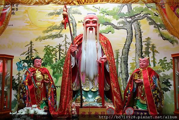 台中法蓮寺月老星君聖像