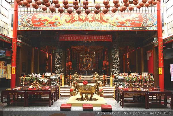 台中南天宮廟內一景