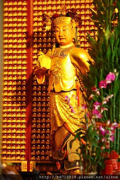 台中南天宮關平太子聖像