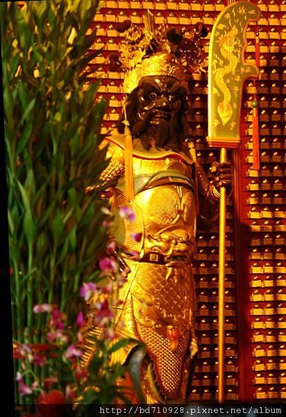 台中南天宮周倉將軍聖像