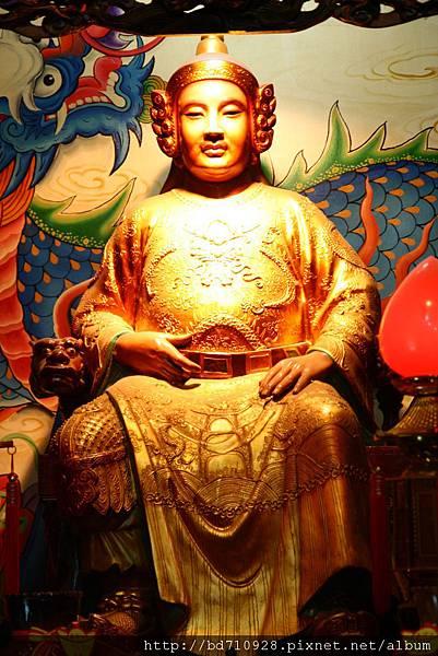 台中南天宮岳武穆王聖像