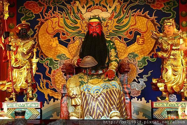 台中南天宮千聖殿關聖帝君聖像