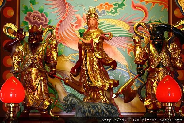 台中南天宮千聖殿天上聖母聖像