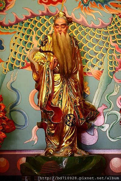 台中南天宮千聖殿月下老人聖像