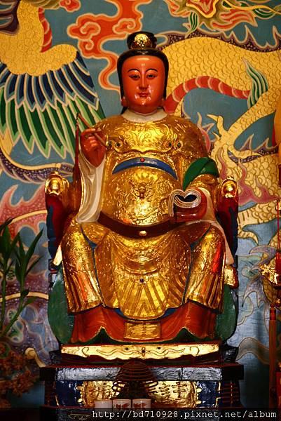 台中南天宮武財殿註生娘娘聖像