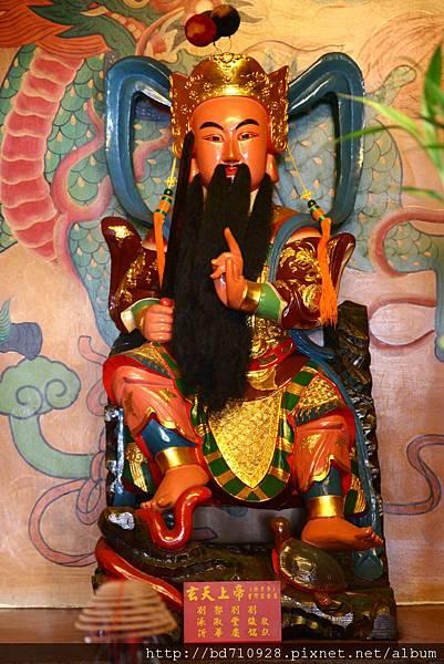台中南天宮凌霄寶殿玄天上帝聖像