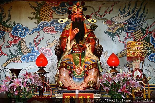 台中南天宮財神殿天官大帝聖像