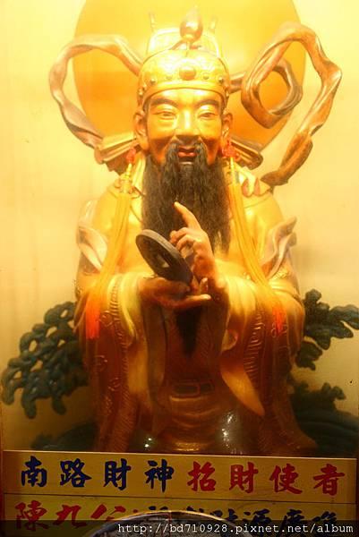 台中南天宮財神洞南路財神(招財使者)聖像