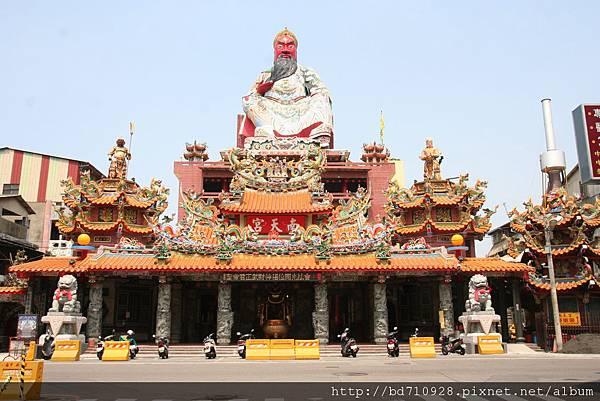 台中南天宮廟貌