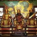 台中樂成宮五路財神聖像