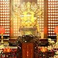 新竹都城隍廟彌勒殿準提菩薩聖像